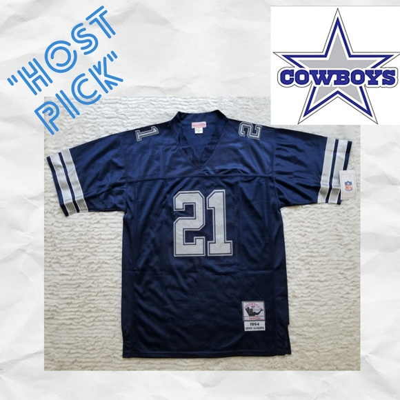 official photos 09a47 10cf0 Deion Sanders Dallas Cowboys #21 Jersey Boutique